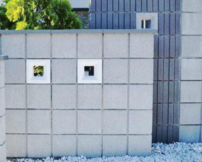 グラニットスクリーンデコーラ 壁 ブロック