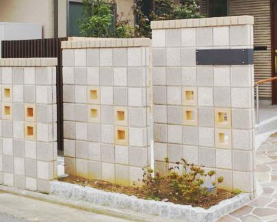 ソロスクリーン 壁 ブロック