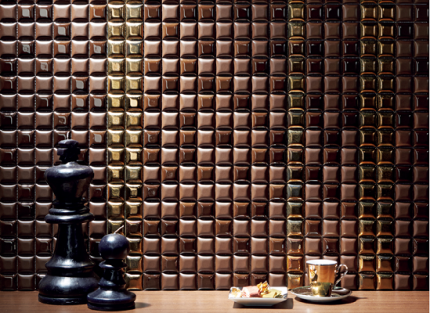 デザインクラフト ショコラテ 壁