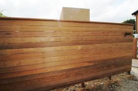 天然木 門壁 目隠し