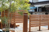 天然木を使った施工事例