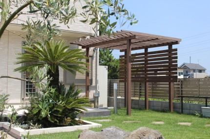天然木を使った施工例