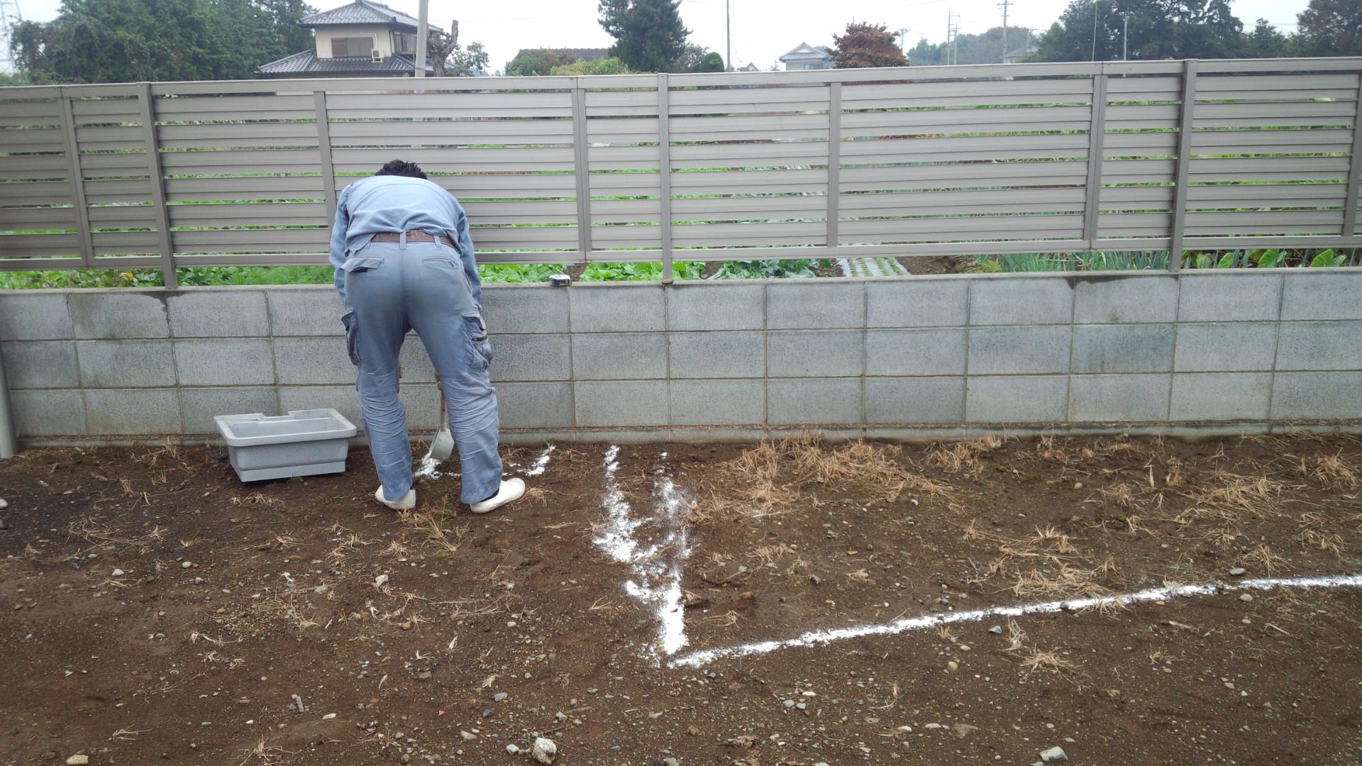 庭造りライン