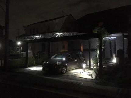 ライト 庭 カーポート Mシェード
