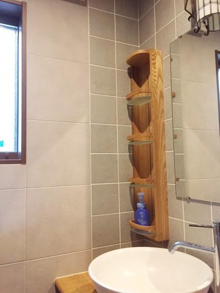 洗面所 エコカラット タイル